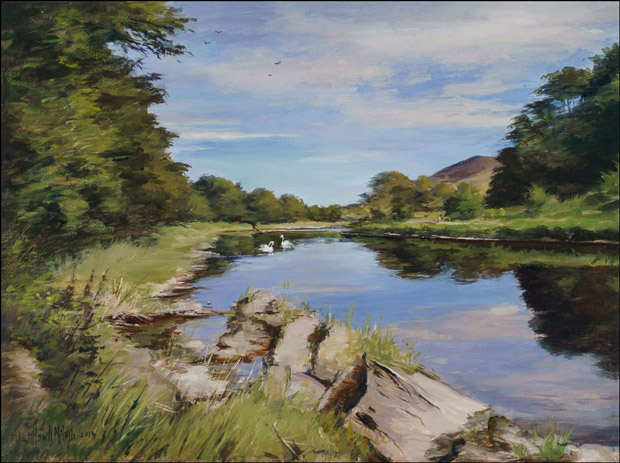 The Tweed near Melrose